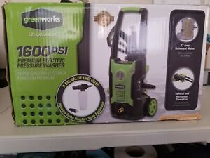 Greenworks 1600 Psi 1 2 Gallon Gpm Cold Water Electric Pressure Washer Gpw1600