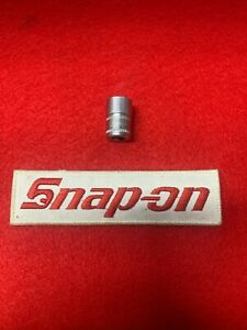 Snap On Tools 1 4 Drive 11mm Metric 6 Point Shallow Chrome Socket Tmm11 A1c