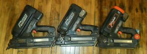 Itw Paslode Impulse Heavy Duty Framing Nailer Model 325 Lot Of 3 As is Repair