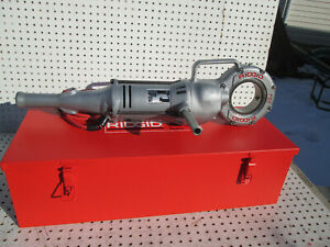 Ridgid 700 Pipe Threader W Exc To New Npt 12r Heads And Dies Set Exc Tool