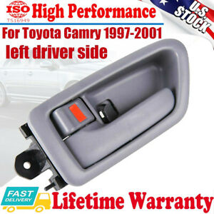 Inner Inside Door Handle Driver Side Left Gray For Toyota Camry 1997 2001 2 2 3l