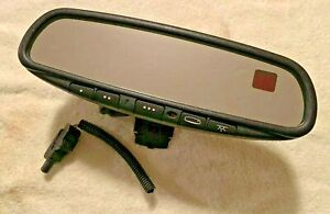 Gntx 341 Rear View Mirror Compass Temperature Homelink Auot Dim Map Light 015614