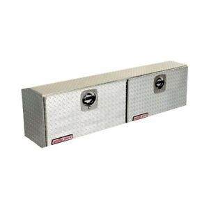 Weather Guard 364 0 02 High side Truck Tool Box Sliver Aluminum 7 9 Cb ft