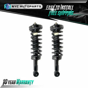 2pc Front Struts W coil Spring Assembly For 2009 2013 Ford F 150 4x4 Exc Raptor