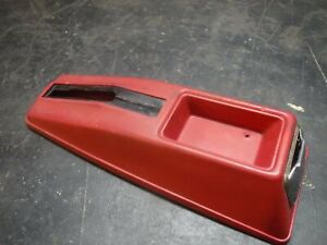 74 75 76 77 78 Ford Mustang Ii Red Kick Emergancy E brake Cover Parking Console