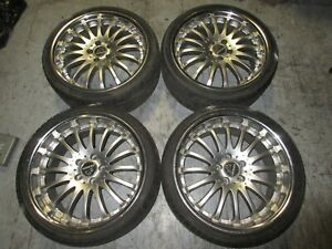 Carlsson Cr 91 265 30 19 235 35 19 Staggered Mag Wheels Only 5x114 3 Offset 40