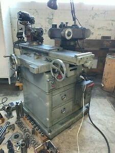 Hybco Mdl 1900 Tool Cut Grinder Work Head Well Tooled