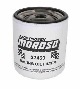 Moroso 13 16 16 Unf Thread 4 9 32 Tall Racing Oil Filter For Chevy 22459