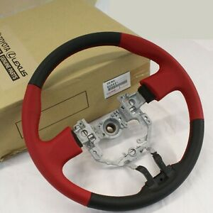 New Oem 12 15 Toyota Gt 86 Scion Frs Brz Zn6 Red Steering Wheel Su003 05651 Jdm