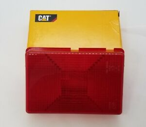 One Factory Rear Tail Light Lens Cover For Caterpillar Cat 247 247b 257 257b