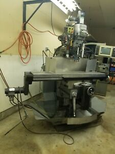 Bridgeport Milling Machine Series Ii Eztrak Dx Cnc
