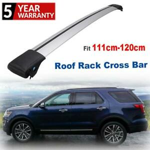 Roof Rack Cross Bar Crossbar Luggage Carrier Cargo Side Rails Mount Clamps Kits