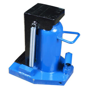 30 Ton Hydraulic Toe Jack Machine Lift Cylinder Proprietary Tool Machinery Us