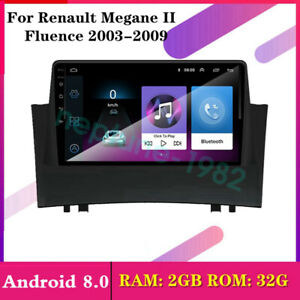9 Android 8 0 Car Dvd Gps Stereo Radio For Renault Megane Ii Fluence 2003 2009