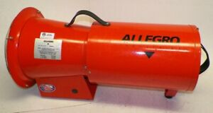 New Allegro Industries 1 3 Hp Air Delivery Ventilator Fan 9514 With 25 Duct
