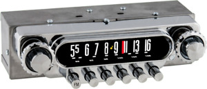 1951 52 Ford Truck Station Wagons Am Fm Stereo Bluetooth Radio For 6 Volt