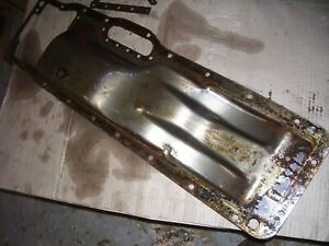 Vintage Oliver Super 55 Gas Tractor hydraulic Oil Pan nice 1958