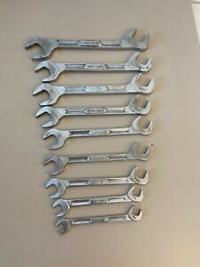 Snap On 9pc 4 Way Angle Wrench Set Sae 7 16 1 Beam Style See Ad Info