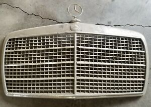 Mercedes Benz W114 W115 C114 Front Grille Assembly Including Badge And Emblem