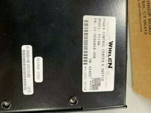 Whelen Pcc6w Switch Box Whelen Part Number 01 0686864 00
