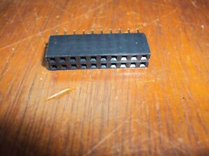 2x10 20pin 2 54mm Double Row Female Straight Header Pitch Socket Pin Strip Nos