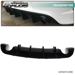 For 15 20 Dodge Charger Srt Factory Style Rear Diffuser Bumper Lower Valance Pp