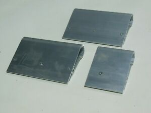 Max Force Aluminum Squeegee Handles Only Scratch dent 3 Pack Odd Number Sizes