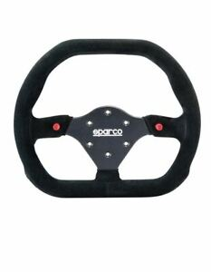 Sparco 310x260 Steering Wheel Suede 015p310f2sn