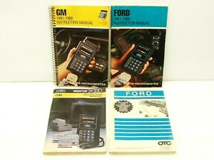 4 Used Otc Monitor 2000 Diagnostic System Scan Tool Manuals 1981 88 Ford Gm