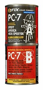 Pc Products Pc 7 Epoxy Adhesive Paste Two part Heavy Duty 4lb In Two Cans Cha