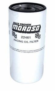 Moroso 13 16 16 Unf Thread Racing Oil Filter For Chevy 2 Quart Capacity 22461