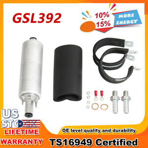 New High Pressure Walbro Gsl392 External Inline Fuel Pump 255lph Kit Carbole Us