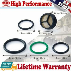 Powerstroke Diesel Ipr Valve Screen Injector Seal Kit For 2003 2010 Ford 6 0l