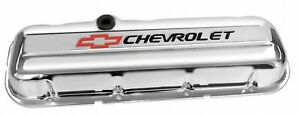 Proform 141 812 Valve Covers Steel Short W Logo Fits Big Block Chevy