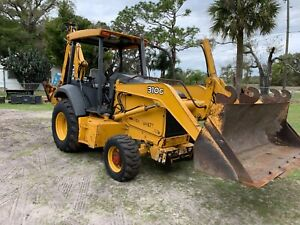 John Deere 310g 4x4 Loader Backhoe