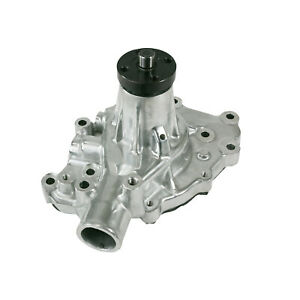 Mechanical Water Pump Aluminum Polished Sbf 289 302 351w P s Outlet