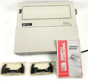 Smith Corona Electric Typewriter Model Dx 3500 Spell Right Dictionary W Manual