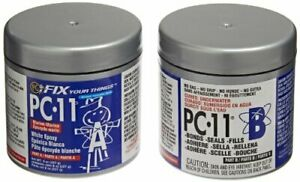 Multi purpose Pc 11 Two part Marine Grade Epoxy Adhesive Paste Bond 1 2 Lb