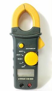 Greenlee Cm 600 Cat Iii 600v Ac Clamp Meter Only