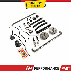 Timing Chain Kit Cam Phaser Vct Selenoid For 04 10 Ford 5 4 Triton