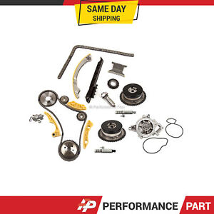 Timing Chain Kit Vct Selenoid Actuator Gear Water Pump For Gm Ecotec 2 2l 2 4