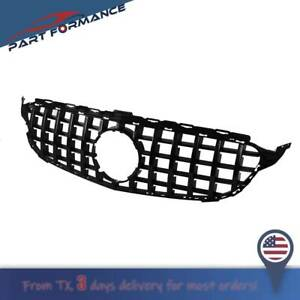 Amg Gt R Style Front Grill Grille For Mercedes Benz C Class W205 C350 2015 2018