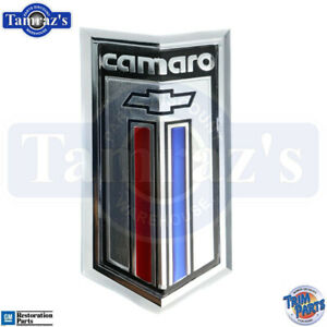 80 81 Camaro Front Nose Grill Grille Plastic Emblem Made In The Usa