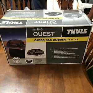 Thule Sweden 846 Quest Cargo Bag Roof Carrier Storage Unused In Box