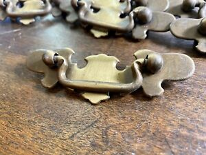 Lot Of 42 Vintage Chippendale Bat Wing Drawer Pulls