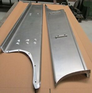 New 1946 2 Wider Chevy gmc Street Truck 1 2 Ton Smooth Steel 16g Running Boards