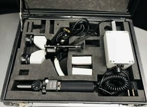 Zeiss Hso 10 Portable Slit Lamp With Carrying Case Ophthalmology Optometry