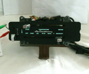 1974 1978 Ford Mustang Ii Coupe ghia Oem Ac heat fan Controls With Harness