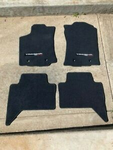 2019 Toyota Tacoma Trd Off Road Dbl Cab Carpet Floor Mats