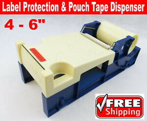 4 6 Label Protection And Pouch Tape Dispenser Industrial Packing Boxes Bags